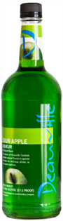 Deauville Liqueur Sour Apple 1.00l - Case...